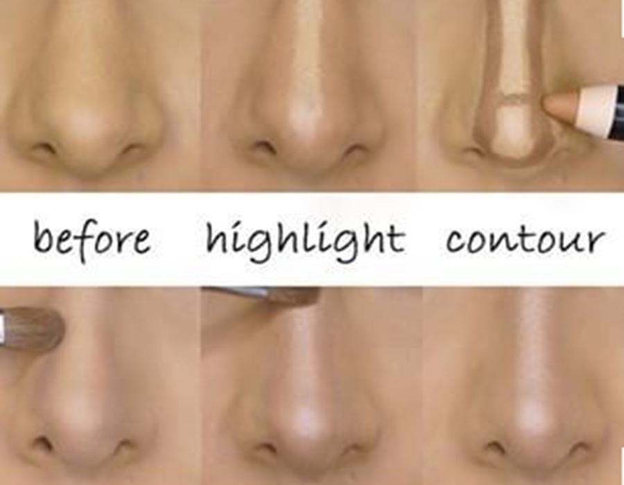 Como maquillarse la nariz