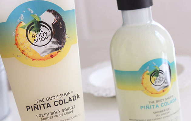 The body shop piña colada