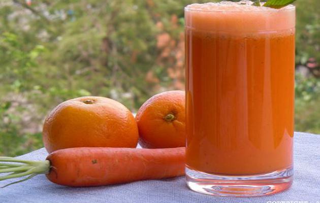 Znahoria, naranja y remolacha
